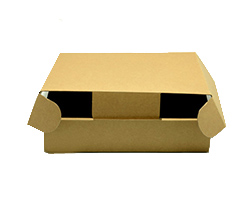 SMALL BOX with FLAP - Natural
