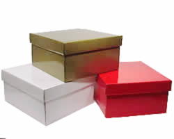 LARGE GIFT BOX & LID