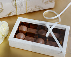 CHOCOLATE TRAY with PVC sleeve