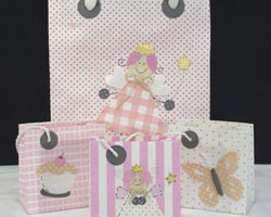 MULBERRY GIFT BAGS - Pinks