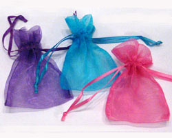 EXTRA SMALL ORGANZA BAGS