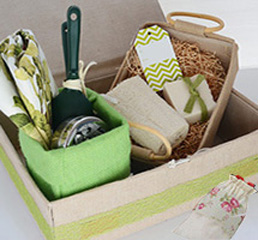 JUTE &ORGANZA PACKAGING