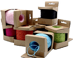 2mm COLOURED PAPER STRING