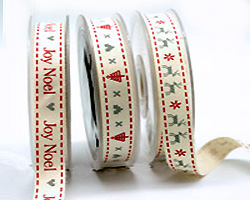 16mm XMAS PRINTS on COTTON TAPE