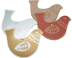 DOVE GIFT TAG