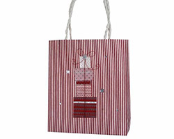 CHRISTMAS MULBERRY GIFT BAGS - Red