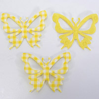 52mm CHECKED-Butterflies-1pkt x 3pcs