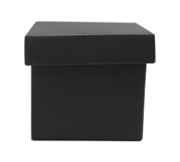 MINI GIFT BOX & LID PACK-Matte Black
