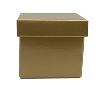 MINI GIFT BOX & LID-Gold