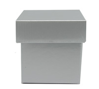 MINI GIFT BOX & LID-Silver