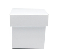MINI GIFT BOX & LID PACK-Gloss White