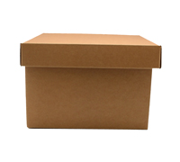SML GIFT BOX & LID PACK-Natural