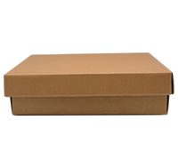 CHOC BOX & LID PACK-Natural
