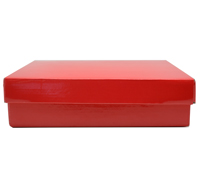 CHOC BOX & LID PACK-Gloss Red