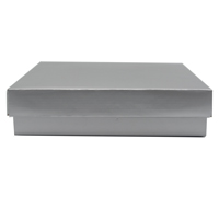 CHOC BOX & LID PACK-Silver