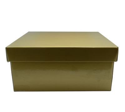 LGE GIFT BOX & LID-Gold