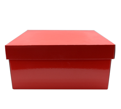LGE GIFT BOX & LID-Gloss Red