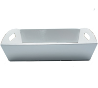 MED HAMPER TRAY PACK-Silver