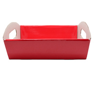 SML HAMPER TRAY PACK-Gloss Red