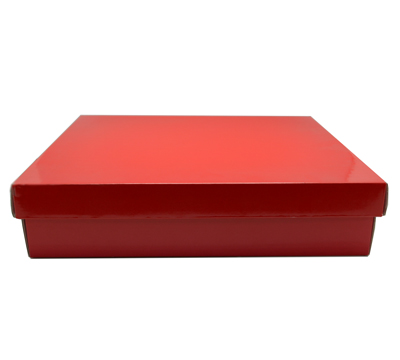 LGE SHIRT BOX & LID-Gloss Red