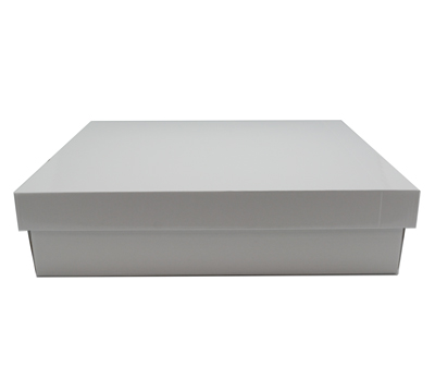 LGE SHIRT BOX & LID-Gloss White