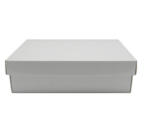 SML SHIRT BOX & LID-Gloss White