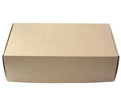 Wine x 2 SHIPPER BOX - Natural