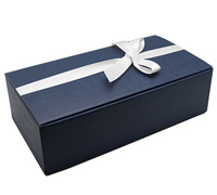 DOUBLE CORPORATE WINE BOX PACK-Seta Navy