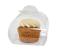 PVC CLEAR CAKE BOX - Small