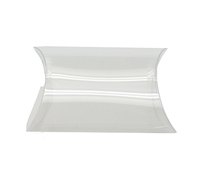 PVC CLEAR PILLOW BOX PACK - Large