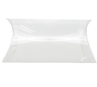 PVC CLEAR PILLOW BOX PACK - Extra Large
