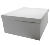 CASEMADE FOLD-UP LARGE GIFT BOX-White