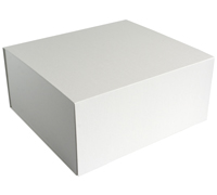 MAGNETIC LID LARGE GIFT-White Linen