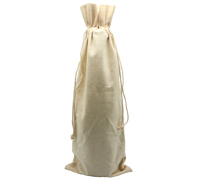 COTTON DRAWSTRING BAG XL - 8oz Cotton