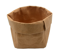 WASHABLE PAPER SACK MED -Tan