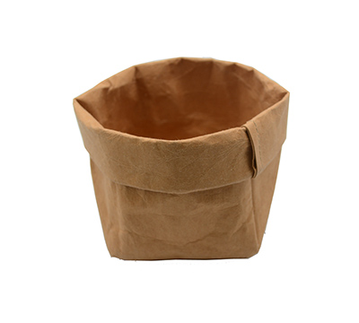 WASHABLE PAPER SACK SML -Tan #1