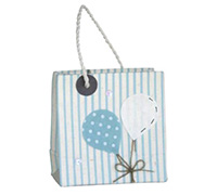 GIFT BAG BALLOONS-Blue