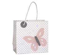GIFT BAG BUTTERFLY-Pink
