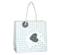 GIFT BAG ELEPHANT-Blue