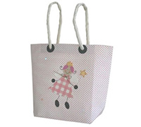 GIFT BAG FAIRY LGE-Pink
