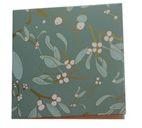 GIFT CARD OZ FOLIAGE-Sage/Gold/LtSage on White card