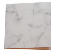 GIFT CARD MARBLE STONE-Black on White card