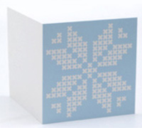 GIFT CARD NORDIC-Pale Blue