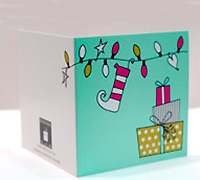 GIFT CARD ELF-Lime/Tiffany/Scarlet