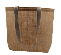 JUTE SHOULDER BAG-Natural Jute