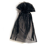 ORGANZA BAG LGE-Black