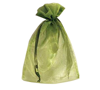 ORGANZA BAG LGE-Lime