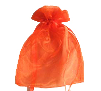 ORGANZA BAG SML-Orange