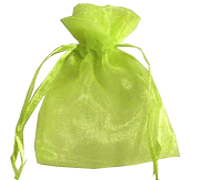 ORGANZA BAG XSML-Apple