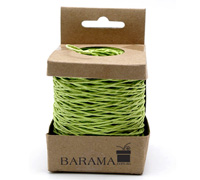 2mm COLOURED PAPER STRING-Lime